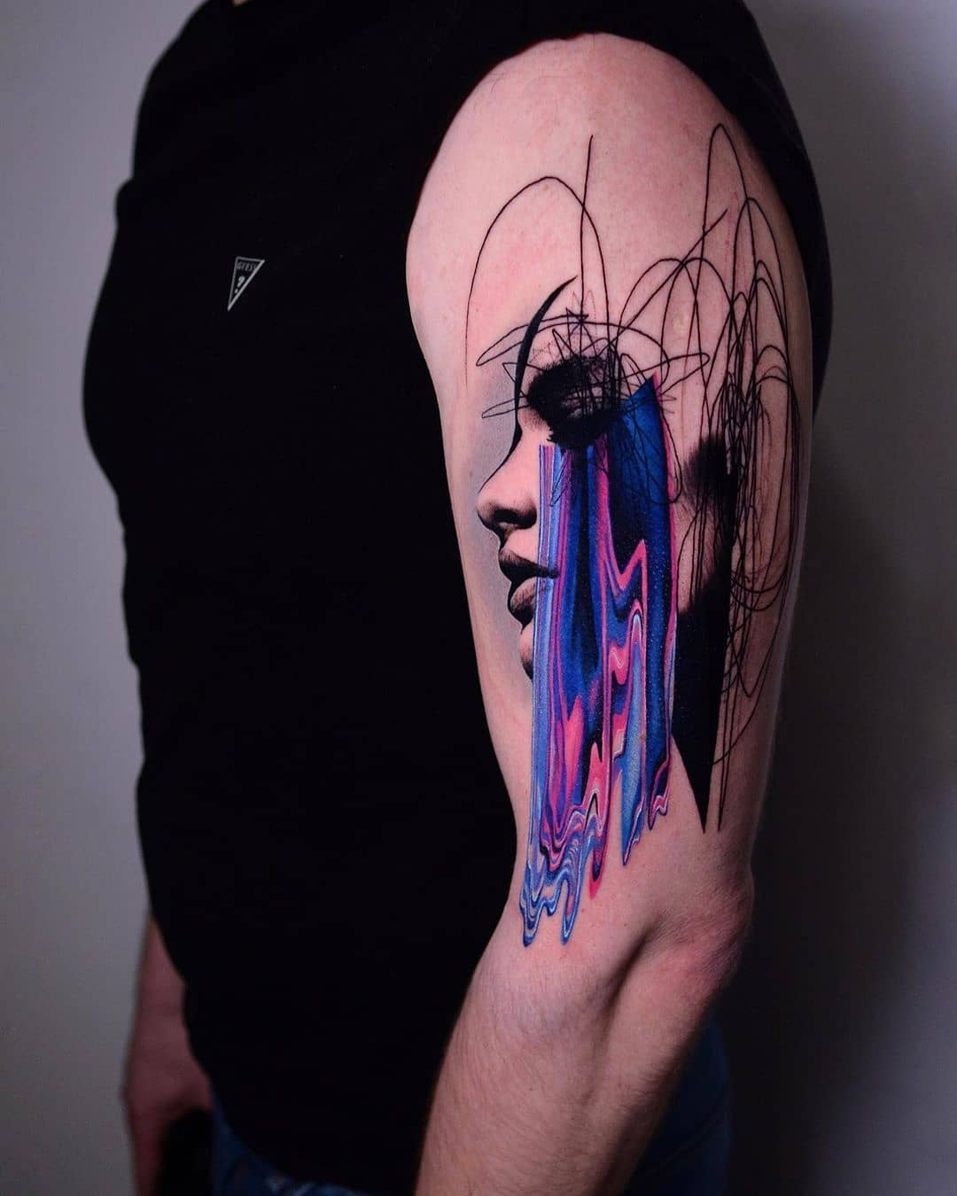 surrealism tattoo abstract.