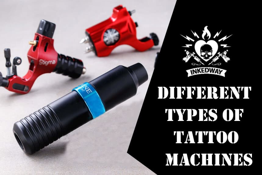 Different Types of Tattoo Machines.