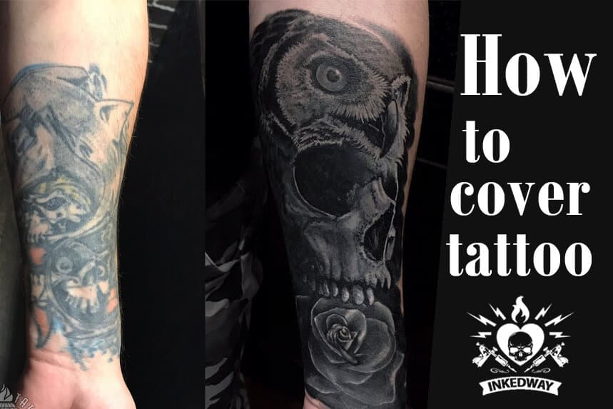 How to cover tattoo.