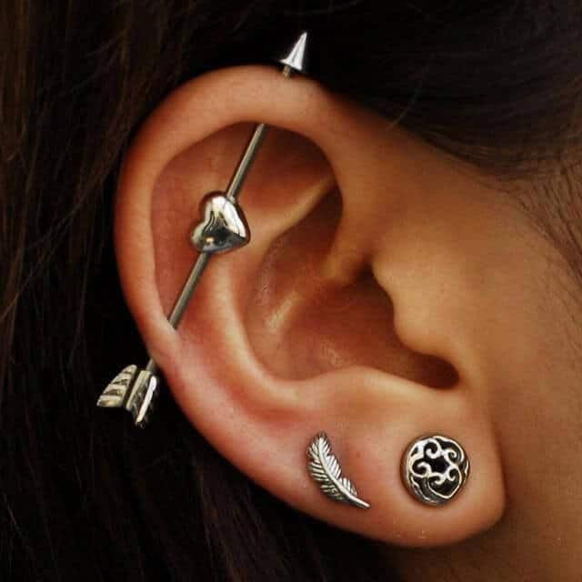 Industrial Piercing arrow.