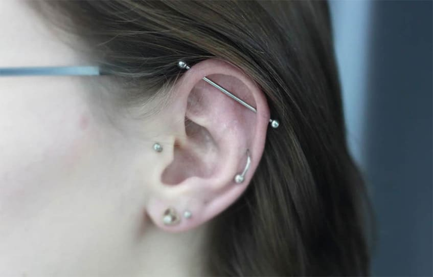 Industrial Piercing.