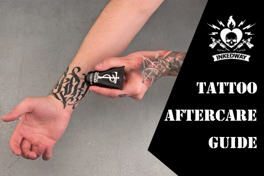 Step-by-Step Tattoo Aftercare Guide: Tips, Products, Q&A.