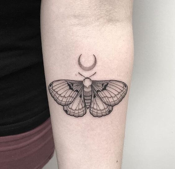 dotwork tattoos butterfly.