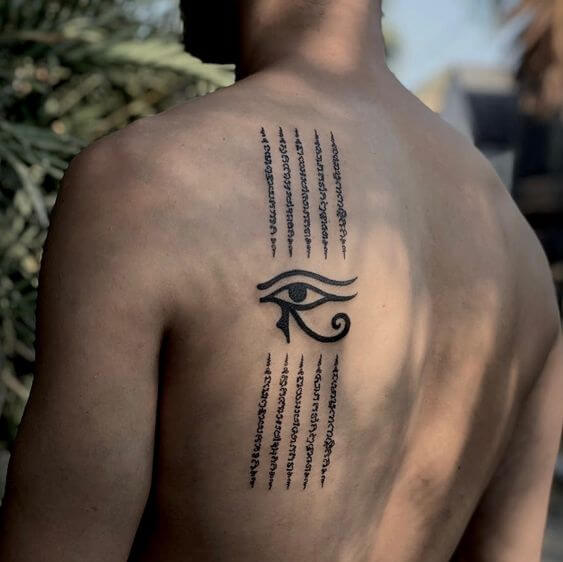 hieroglyphics tattoos.