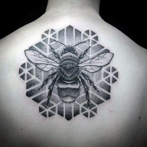 tattoo insects geometric.