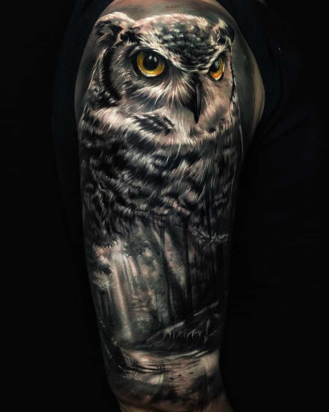 tattoo owl meaning.