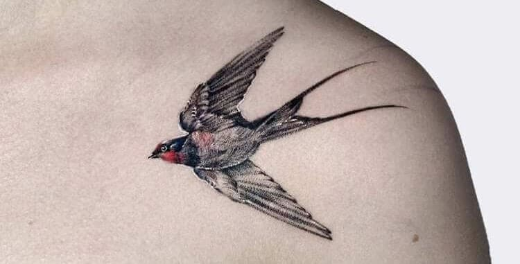tattoo swallows meaning.