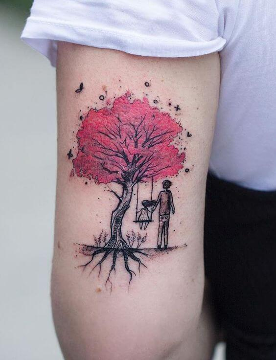 tattoos tree for women.