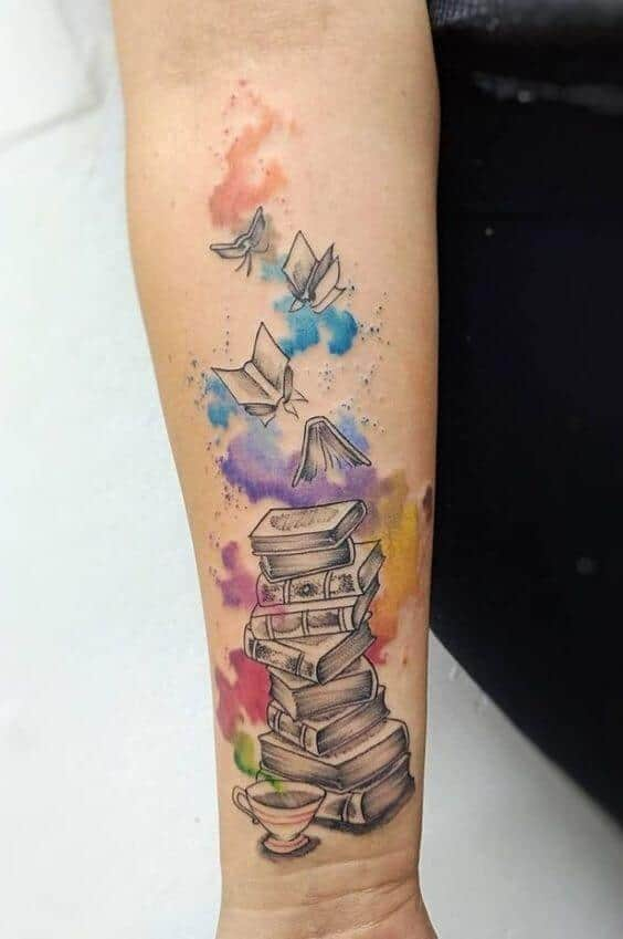 watercolor tattoo books.